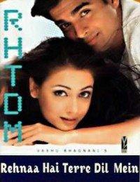 Rehnaa Hai Terre Dil Mein (2001) Songs Lyrics