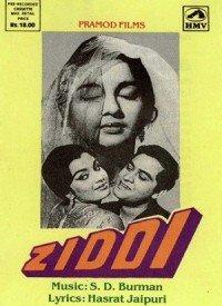 Ziddi (1964) Songs Lyrics