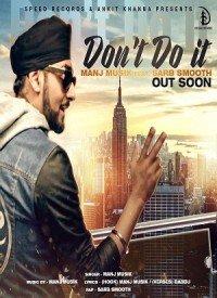 Don't Do It (2015) Songs Lyrics
